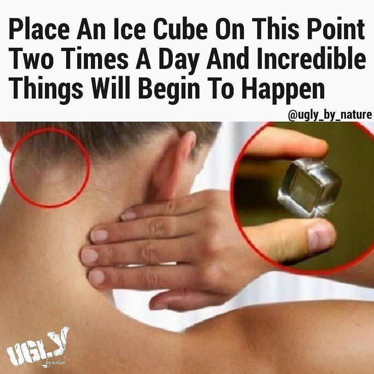 Image result for 14 Incredible Things That Happen When You Put An Ice Cube At This Point On Your HeaD