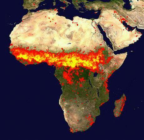 nasa fire map - photo #6