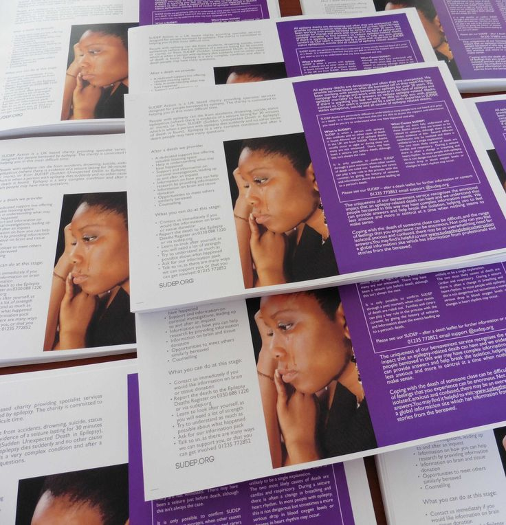 A4 Leaflets Folded to A5, 170gsm Silk Thank you SUDEP Action for your repeat business. © Motion Printing 2015