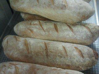 Artisan ciabatta bread served at Adriatico!