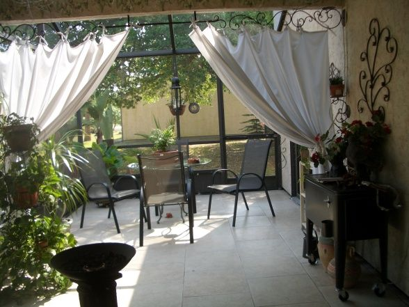 Ideas Curtains For Outdoor