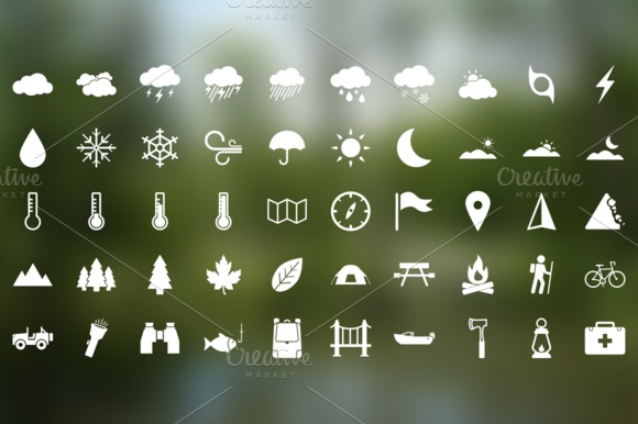 50 Outdoor icons