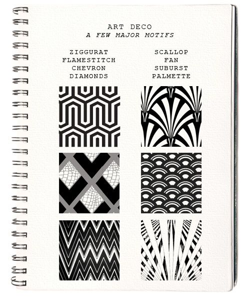 958 Best Images About Art Deco Patterns On Pinterest