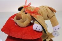 Teddy Doggy, Valentines - Super Floral Distributors - Decor, Floral accessories and Crafters accessories in Cape Town