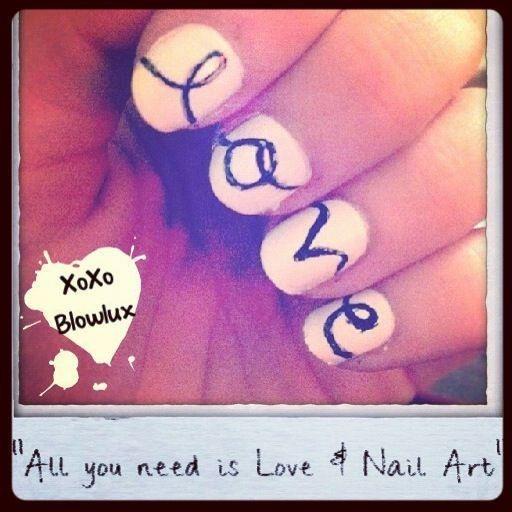 Cute Nail Art !!!!