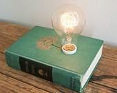 Hardback Book Lamp - Catherine the Great. $140.00, via Etsy.Worth Reading, Exchange Room, Trav'Lin Lights, Inspiration Bulbs, Book Worth, Book Lights, Vintage Inspiration, Hardback Book, Book Lamps