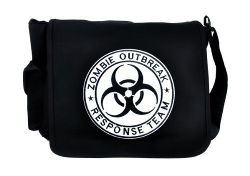 Zombie Outbreak Response Team School Messenger Bag