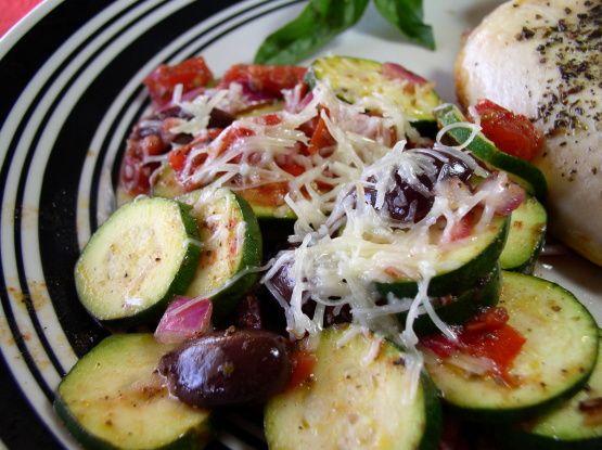 ... Greek-Style Zucchini   Recipe   Grilled zucchini, Zucchini and Style