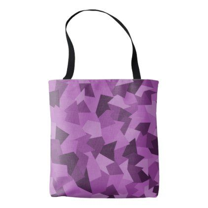 Carrying bag with abstract sample in violet - sample design diy personalize idea