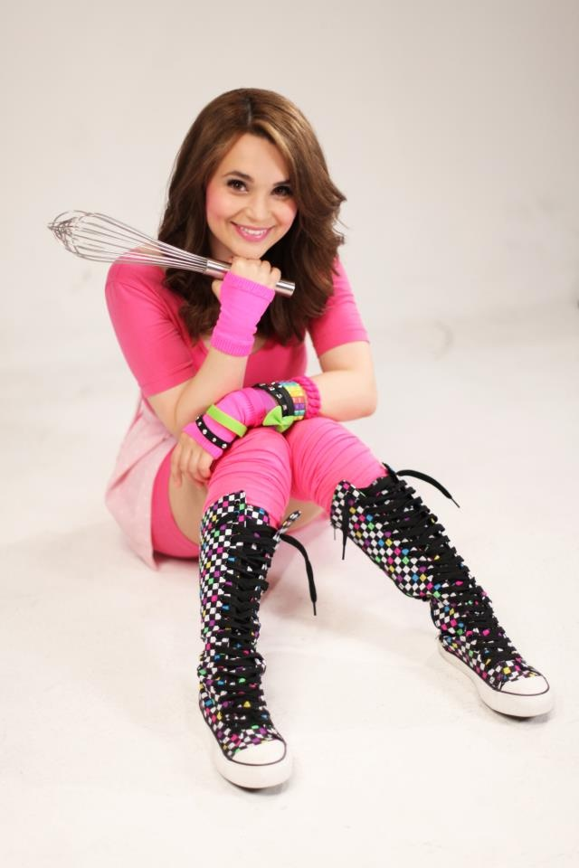 Rosanna Pansino of Nerdy Nummies. Love her channel on YouTube! Nerdy Nummies is usually put out every Tuesday