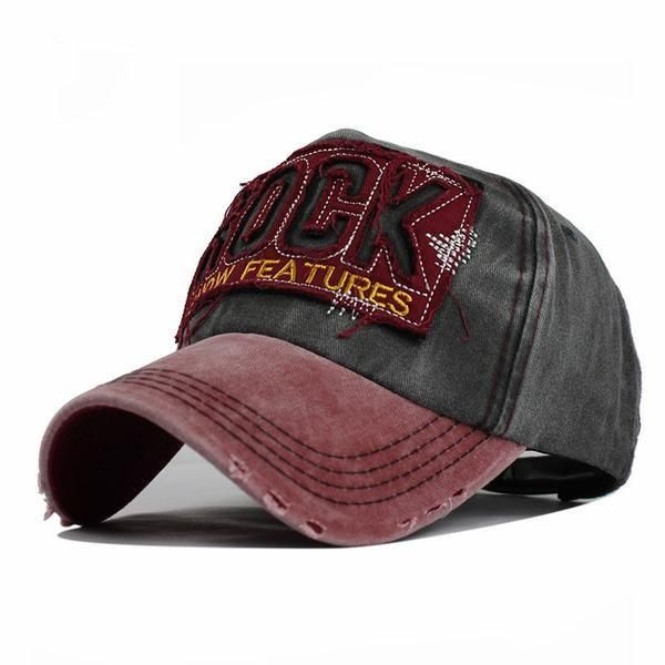 ff7f6c31f11 High Quality Washed Cotton Adjustable Solid Color Unisex Baseball Caps