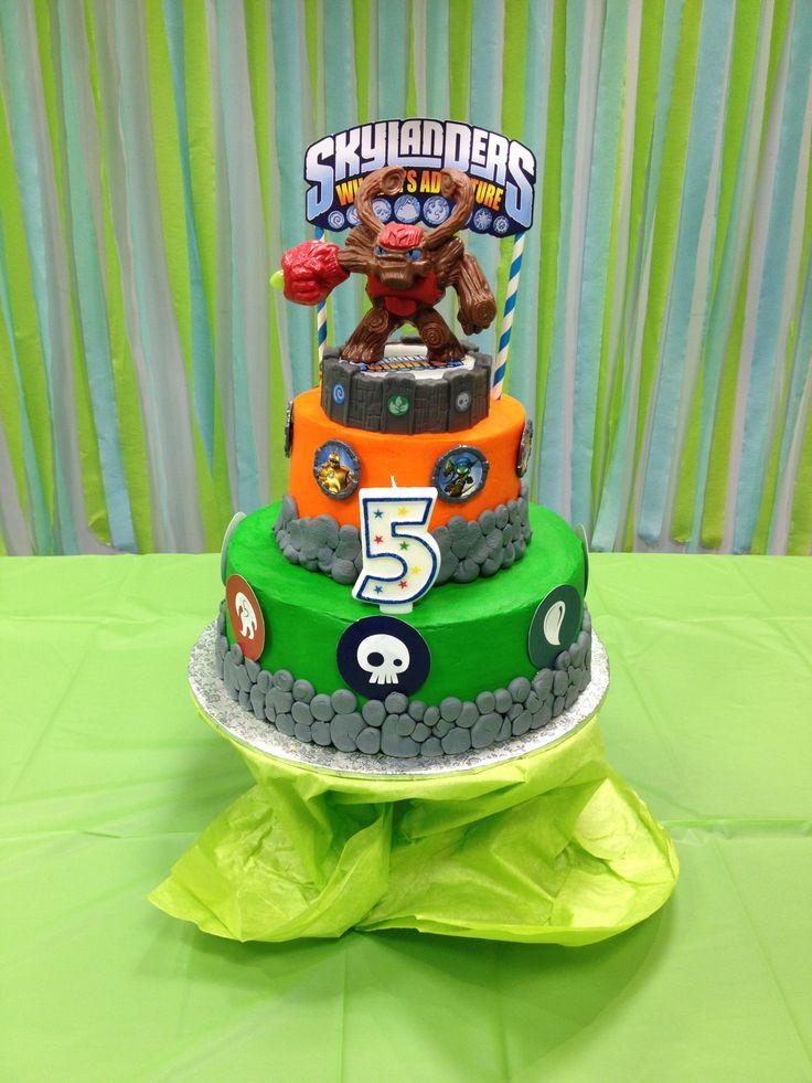 Birthday Cake Walmart Skylander Themed Birthday Party
