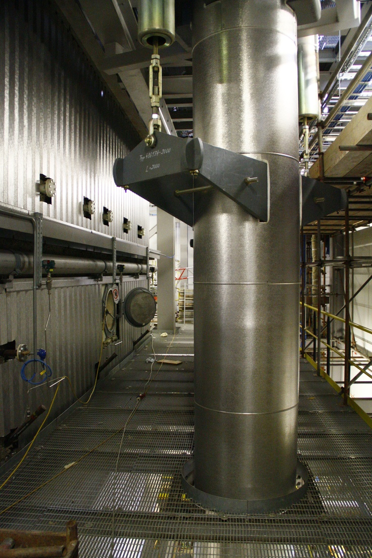 Vertical Pipe Insulation.