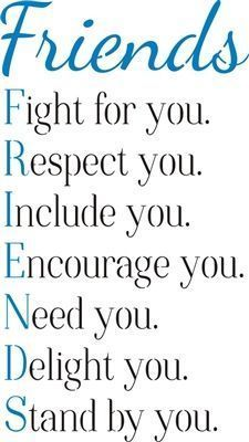 Friends: Fight for you. Respect you… 11.5 x 20″ Stencil
