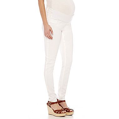 Buy Front Band Mid Rise Maternity Skinny Jeans today at jcpenneycom You deserve great deals and weve got them at jcp!