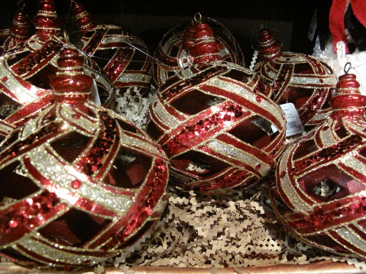 Christmas Decorations At Haskins : Glass collectible ornaments gorgeous for