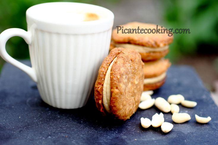 Арахисовое печенье с арахисовым кремом