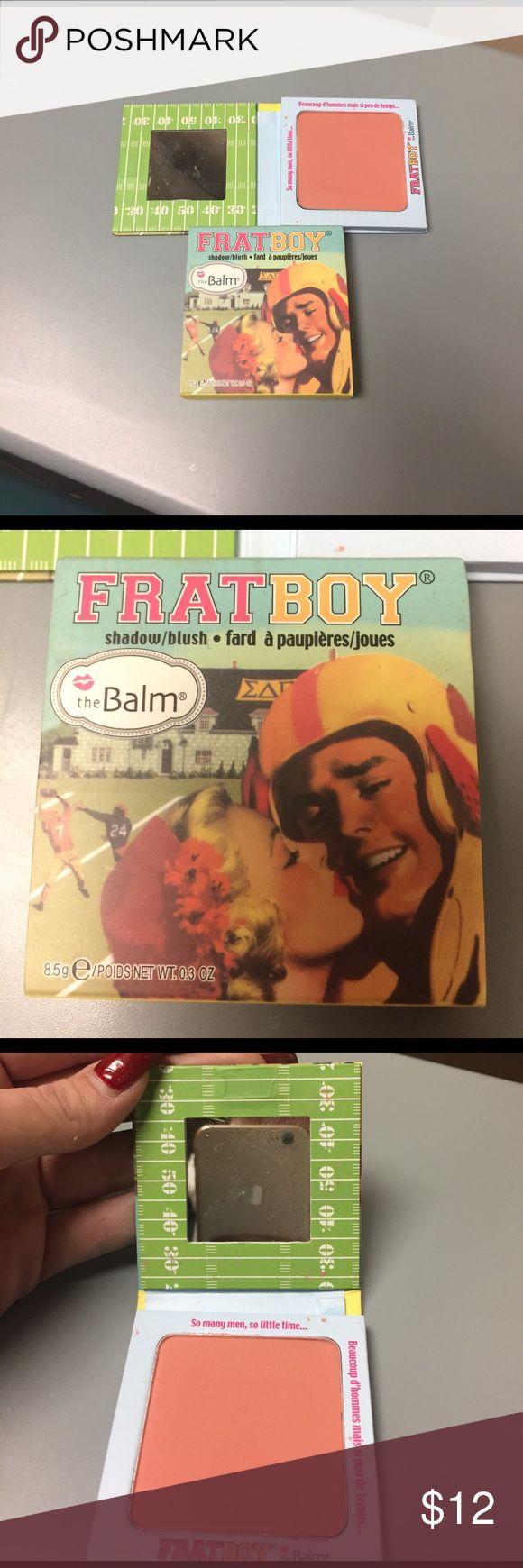 FRAT BOY BY THE BALM EYESHADOW AND BLUSH The balm brand blush, brand new. NEVER USED. the balm Makeup Blush