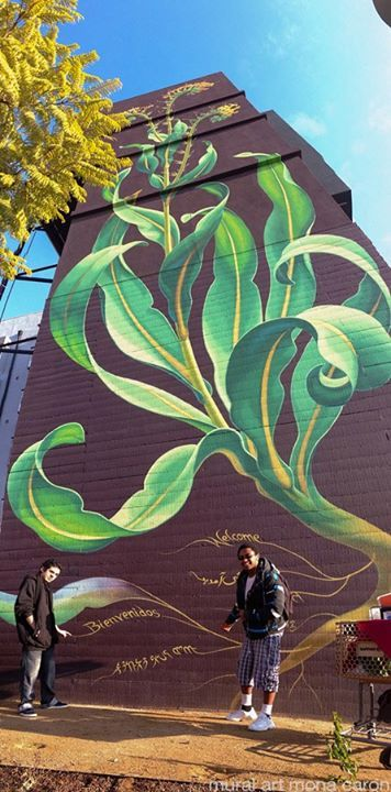Street Art by Mona Caron