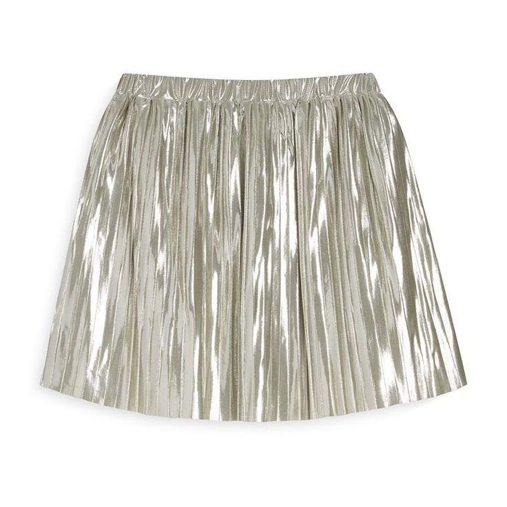 Falda plisada color oro  Categoría:#primark_mujer #ropa_de_mujer #vestidos en #PRIMARK #PRIMANIA  Más detalles en: http://ift.tt/2wIUcjt