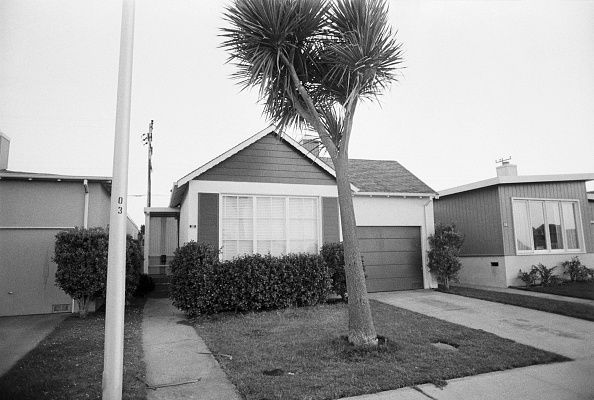 Suburban frame house where Patricia Hearst was held after her February 4th kidnapping by the Symbionese Liberation Army