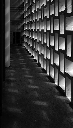 brise soleil [wanganui war memorial hall | by Michael-D(new works) via Flickr]