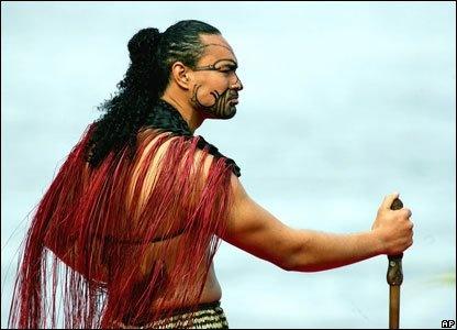 Maori man, Pacific Islands