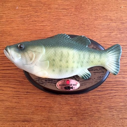 Use an Arduino Uno and Motor Shield to give a Billy Bass singing fish the ability to speak to you from any audio source. By Donald Bell.