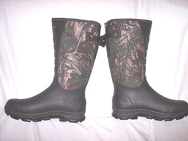 Mens Rubber Boots Camo Lacrosse Snake Proof Boots 13 Snake Bite Proof Fishing