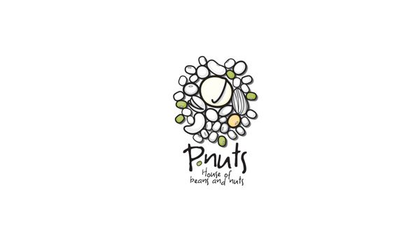 P.nuts logo and packaging design on Behance