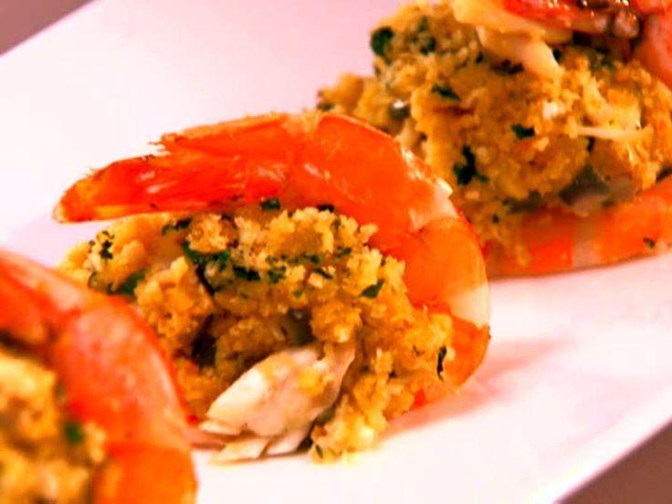 Jalapeno and Crab Stuffed Shrimp recipe from Aaron McCargo Jr. via Food Network