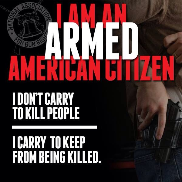 It's my right to protect my self and anyone needing to be protected...                                                                                                                                                                                 More