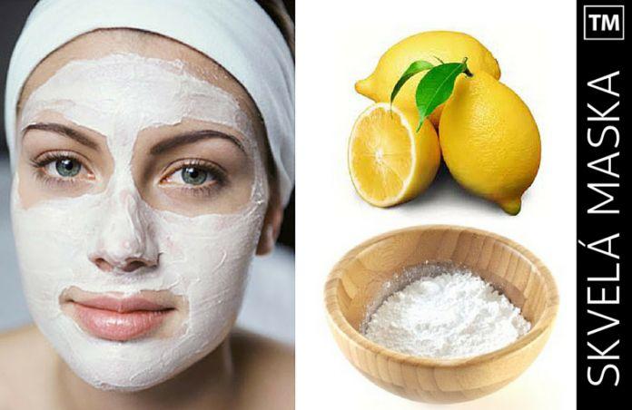 Aplikujte na tvár túto masku z citróna a sódy a stane sa niečo úžasné…   topmagazin.sk