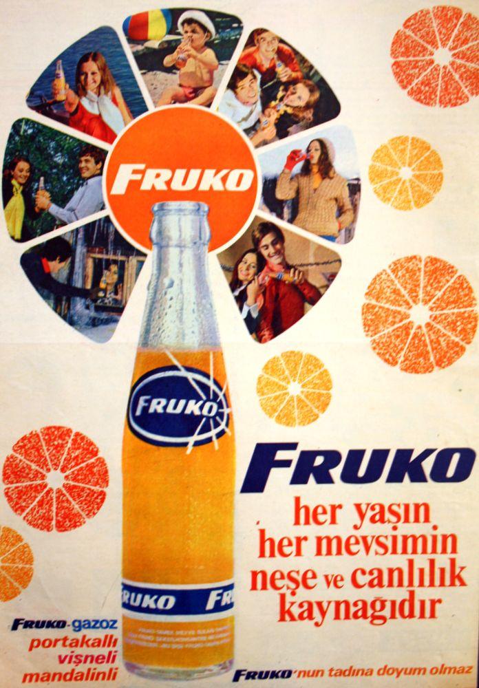 #pepsico #fruko #retro #poster