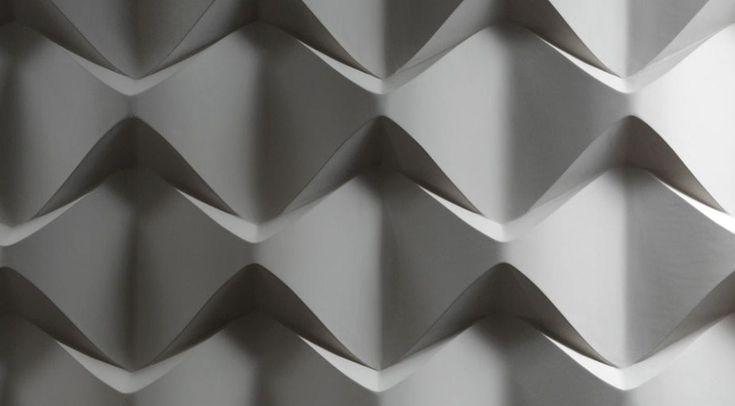 Panel decorativo de mortero reforzado con fibras / para revestimiento interior / para exteriores / de pared CAOS 3D surface