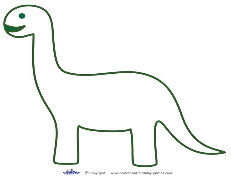 Witty image intended for dinosaur template printable