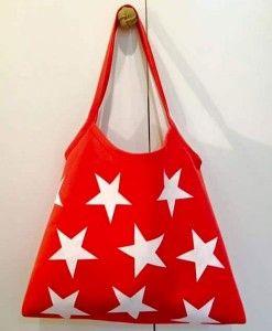 Bolso de algodón 100% con diseño exclusivo de estrellas 40,00€