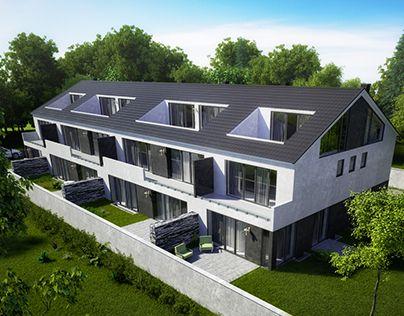 "Check out new work on my @Behance portfolio: ""Блокированный дом"" http://on.be.net/1M1OvB0"