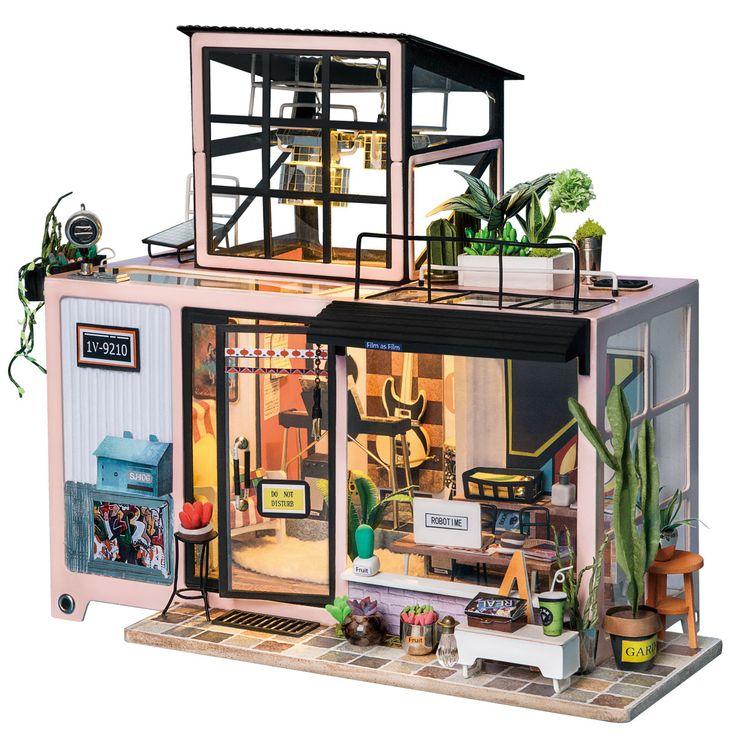 Kevin's Studio DG13 Miniature rooms, Diy dollhouse, Mini