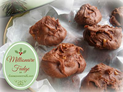 Millionaire Fudge {Granny's Recipe Revisited} by Southern Kitchen Happenings