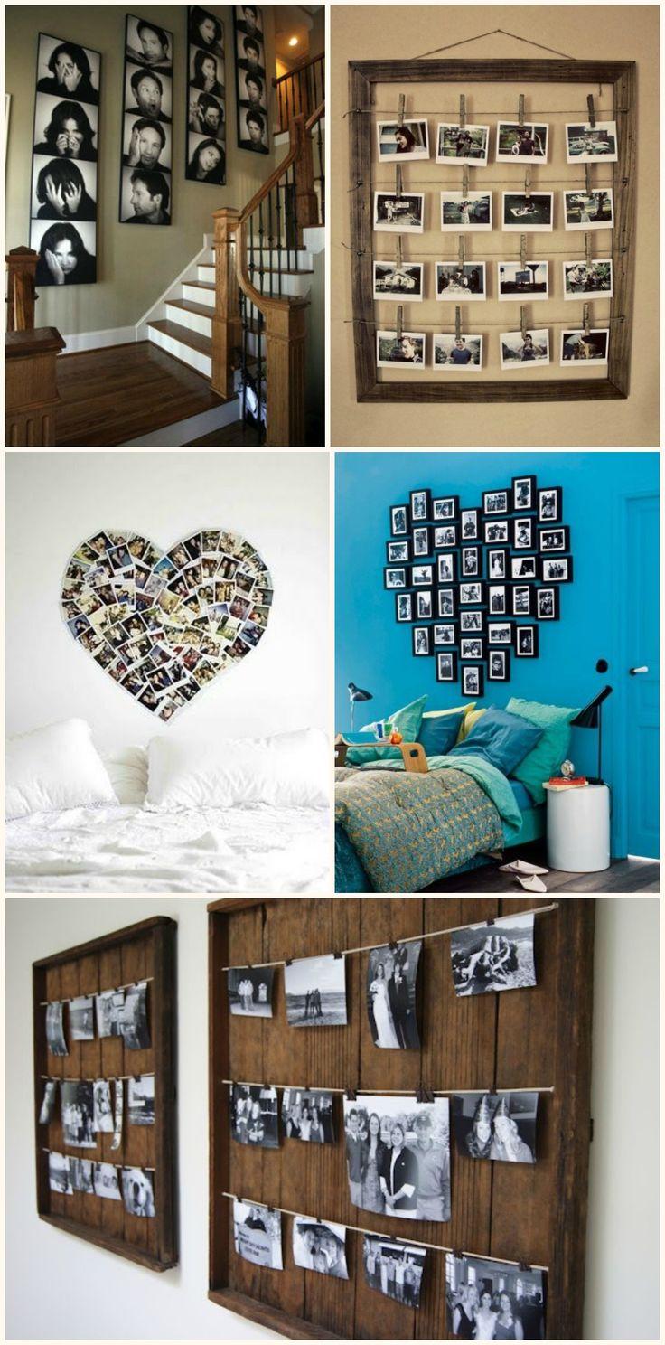Oltre 25 fantastiche idee su decorare una parete su - Decorare parete con foto ...
