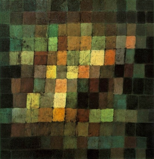 Ancient Sound by Paul Klee - so deep and green