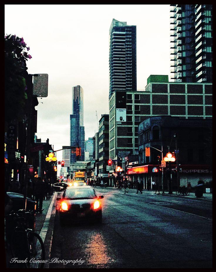 Toronto City streets.