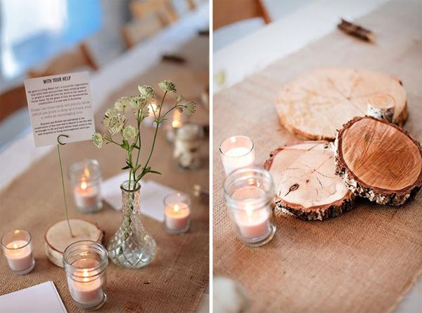 Love... Pretty Chic Blog – Modern Scandinavian Weddings , Archive » Bryllup: Et organisk bryllup – Borddekorationer og kagebuffet