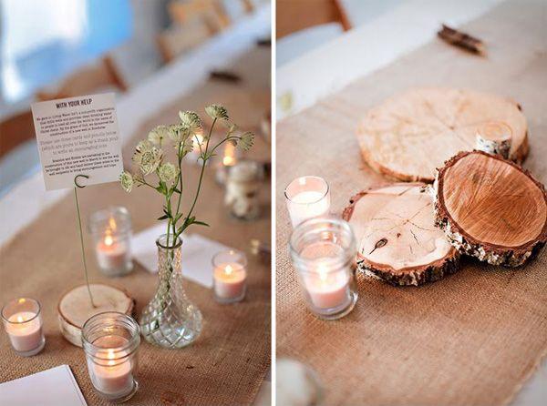 Love... Pretty Chic Blog – Modern Scandinavian Weddings , Archive » Bryllup: Et organisk bryllup – Borddekorationer og kagebuffet