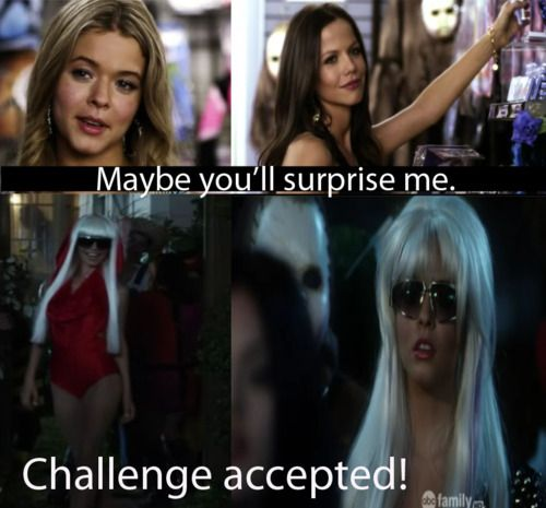 pretty little liars challenge accepted jenna cavanaugh x alison dilaurentis - Pretty Little Liars First Halloween Episode
