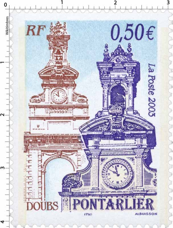37 best clock stamps images on pinterest postage stamps 2003 pontarlier doubs wikitimbres fandeluxe Gallery