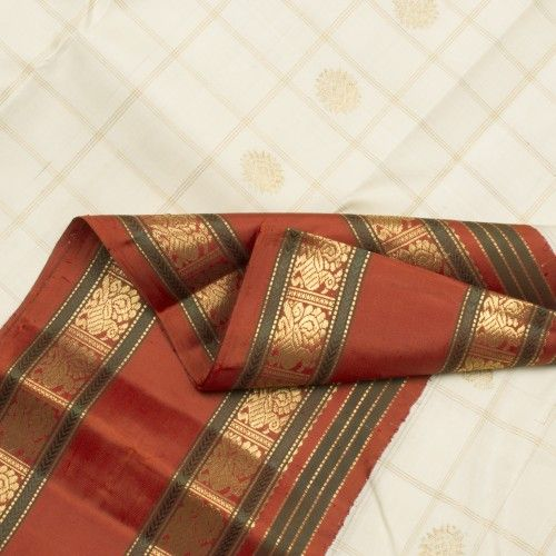 Kanakavalli Handwoven Kanjivaram Korvai Sari 040100830