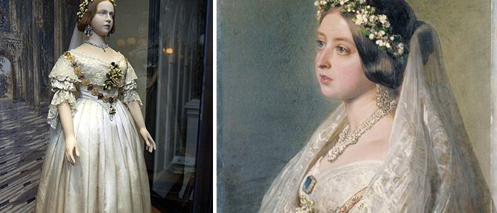 Did you know that it was Queen Victoria who made WHITE the customary and accepted 'color' for the Bride's Wedding Gown?