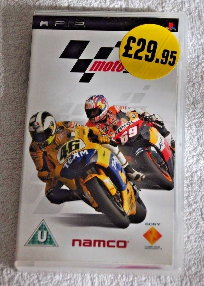 PSP  MotoGP  GAME  USED ONCE  SONY
